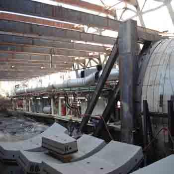 Tunnel segment manufacturing plant